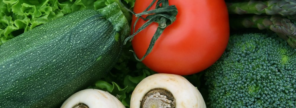 קישוא עגבנייה ופטריות