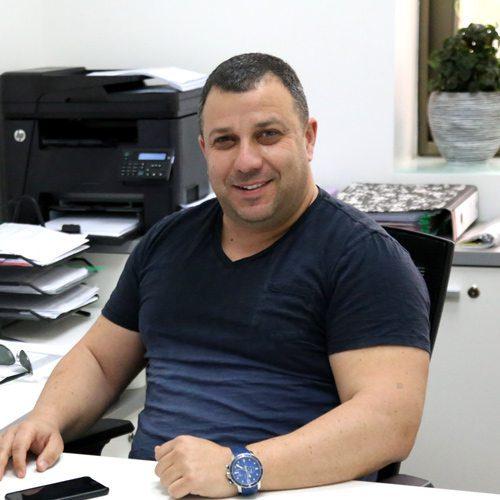 אלכס זילברגלייט - מנהל לוגיסטיקה