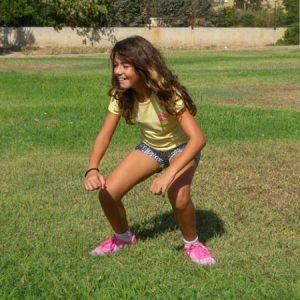 הליכת ברווז- חיזוק שרירי הרגליים, הבטן וזוקפי הגב
