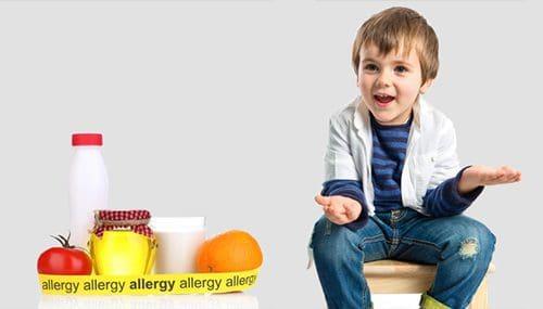 ילדים - אלרגיות ורגישויות למזון