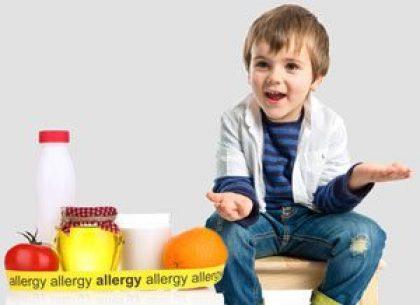 אלרגיה למזון אצל ילדים