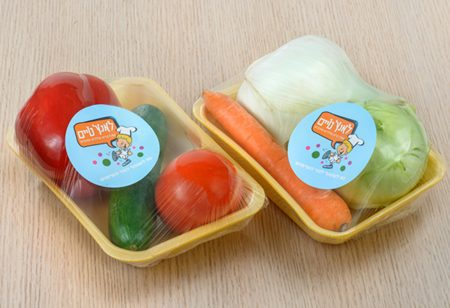 מארז של ירקות מעורבים