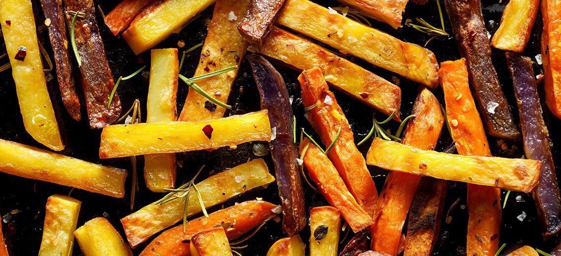 ציפס מירקות שורש שונים